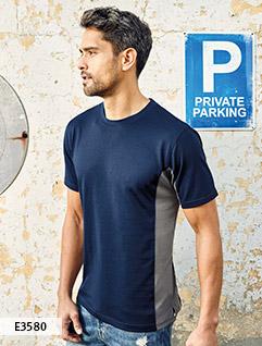 Contrasterende Sport Shirts